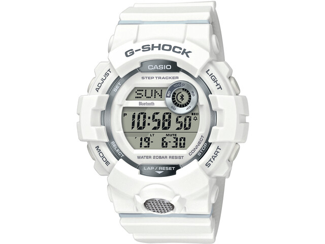 CASIO G-SHOCK GBD-800-7ER Watch Men, white/white/grey